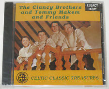 THE CLANCY BROTHERS & TOMMY MAKEM & FRIENDS CD -CELTIC CLASSIC TREASURES -F. SLD