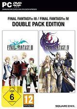 Final Fantasy (III) 3+ (IV) 4 Paquete Doble PC NUEVO + emb.orig