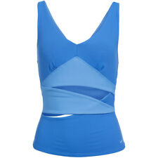 Nike Top Sports Fitness Damen blau s Dri-fit