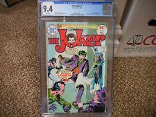 The Joker 1 cgc 9.4 DC 1975 Batman Catwoman Riddler Penguin Two-Face WHITE pgs