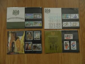 1968  YEAR SET OF 4  PRESENTATION PACKS  IN MINT CONDITION