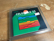 Color File II COMPLETE CIB Tandy TRS-80  Video Game Computer Radio Shack