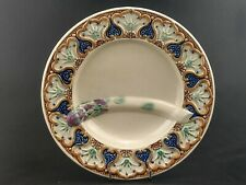 More details for majolica pottery asparagus plate 19th century