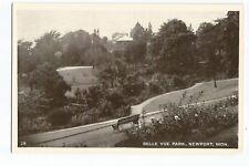 Postcard Belle Vue Park Newport Wales unposted      (A27)