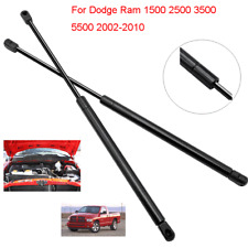 For Dodge Ram 1500 2500 2002-2010 Gas Struts Front Hood Lift Supports  Shocks
