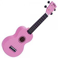 Left Handed Mahalo Soprano Ukulele Uke Fitted Aquila Strings and Gig Bag