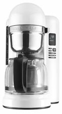 Kitchen Aid Coffee Maker Programmable Automatic Machine One Touch Brewing white