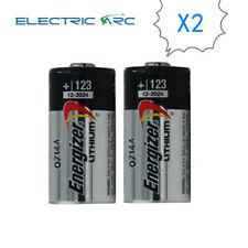 2X Energizer CR123A CR17345 DL123A CR123 EL123 3V Lithium Batterise EXP2024