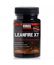 NEW!! Force Factor LeanFire XT Fat Burner Weight Loss Supplement (30, Exp 3/21)