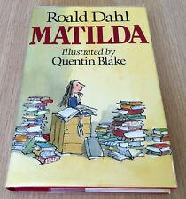 Roald Dahl - MATILDA - HCDJ - 1st UK Edition 1988 - Jonathan Cape - Quentin Blak