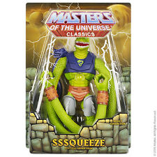MOTUC Sssqueeze Masters of the Universe Classics 2015 He-Man Club Eternia She-Ra