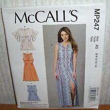 Womens/Misses Tops Tunics Dresses Sewing Pattern/McCall's MP247/SZ 6-14/UCN