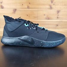 Nike PG 3 Paul George (Black / Aqua) [AO2607-006] Mens Basketball Mens