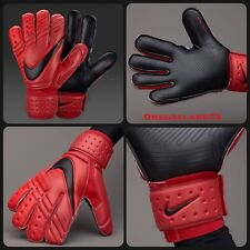 Nike Goalkeeper Gloves GK PREMIER, Sz 11, GS0345-657, RRP £100 BLACK & CRIMSON