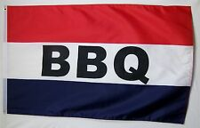 BBQ Flag 3' X 5' Deluxe Indoor Outdoor Barbcue Business Banner
