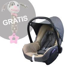BAMBINIWELT Ersatzbezug 6tlg Maxi-Cosi CABRIOFIX Babyschale GRAU BEIGE MEL + GSR