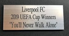 LIVERPOOL/CELTIC SIGNED SHIRT, SIGNED PHOTO OR ANY MEMORABILIA ENGRAVED PLAQUE