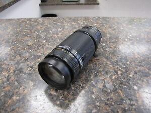 Mint Nikon AF Nikkor 75-300mm f/4.5-5.6 Telephoto Zoom Lens - Quantity
