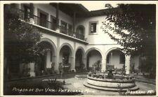 Patzcuaro Mich Mexico Posada de Don Vasco Real Photo Postcard #1