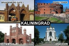 SOUVENIR FRIDGE MAGNET of KALININGRAD  KÖNIGSBERG RUSSIA