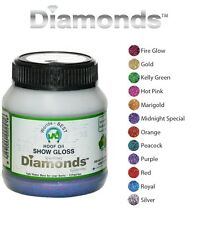Worlds Best Diamonds Horse Gloss Glitter Dog Nails Hoof Oil Show Polish Fast Dry