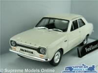 FORD ESCORT MK1 MODEL CAR 1:43 SIZE ERMINE WHITE CARARAMA CR033 1960'S SALOON K8