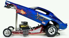 NEW IN STOCK! Legends 1/18 Revell's Jungle Jim FLAMED BLUE Camaro NHRA Funny Car