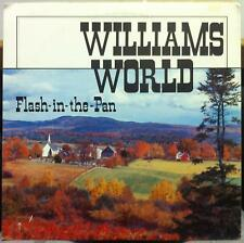 Williams World - Flash In The Pan LP VG+ Private CO Country 1974 Rare Family