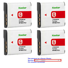 Kastar Replacement Battery Pack for Sony NP-BG1 NP-FG1 & Sony Cyber-shot DSC-W40