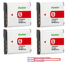 Kastar Replacement Battery for Sony NP-BG1 NP-FG1 Sony Cyber-shot DSC-T25 Camera