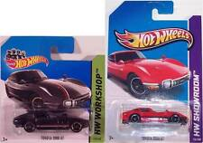 Hot Wheels 2 Toyota 2000GT Coupes 1 Red 1 Black HW Showroom #176/250