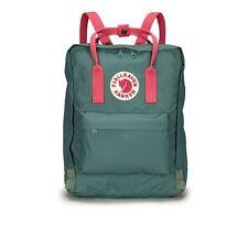 New Women Men Fjallraven Kanken 23510 Classic Backpack(#664-319Frost Gn-peach pk