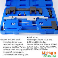 6pc Engine Timing Tool Camshaft Crankshaft Locking BMW N43 Chain Drive Petrol