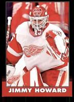 2020-21 UD O-Pee-Chee Retro Black Border 448 Jim Howard /100 Detroit Red Wings