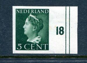 Nederland, nvph 332v,  + randstuk, postfris : opruiming, sale
