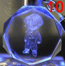 Dragon Ball Dragonball Z Trunks Crystal Key Chain LED key chains best gift