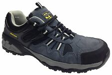 Nuevo vividores compuesto de seguridad zapatos Entrenador Luz Cuero gran ajuste desde el Reino Unido 3 -15