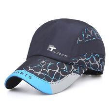 1Pcs Unisex Quick-drying Sports Cap Outdoor Running Camping Tennis Baseball Hat