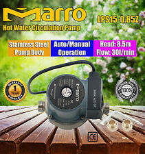 Marro Hot Water Circulation Pump Stainless Steel Pump Body Auto/Manual Operation