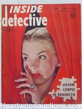 """""""Inside Detective"""" March 1945 Pagano cover"""