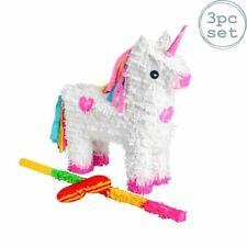 Fax Potato Unicorn Piñata Set - FPPT40034X1 - Multicoloured