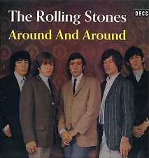 "ROLLING STONES ""AROUND AND AROUND"" ORIG FR 1966 EX"