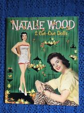 Natalie Wood Paper Dolls/Whitman#2086/yr1958 /Uncut