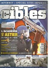CIBLES N°396 ACADEMIE ST ASTIER/ SMITH &WESSON LANCE SON 1911/TAURUS : PT 92 SS