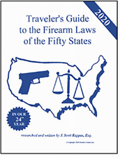 2020 Gun Laws of the 50 States - Traveler's Guide to Firearm Laws Ready to Ship