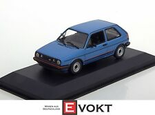 Minichamps 1:43 VW Golf GTI - 1985 - blue metallic