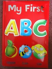 MY FIRST ABC  BOOK - Hardback children's book - Teaches the alphabet - BRAND NEW