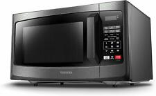 Em925A5A-Bs Microwave Oven with Sound On/Off Eco Mode and Led Lighting, 0.9 Cu.f