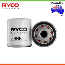 New * RYCO * Oil Filter For TOYOTA COROLLA ZRE182R 1.8L 4CYL Petrol