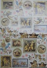 CARTE DA DECOUPAGE STAMPERIA - LOTTO 12 SOGGETTI 50 X 70 cm € 0,80 cadauna